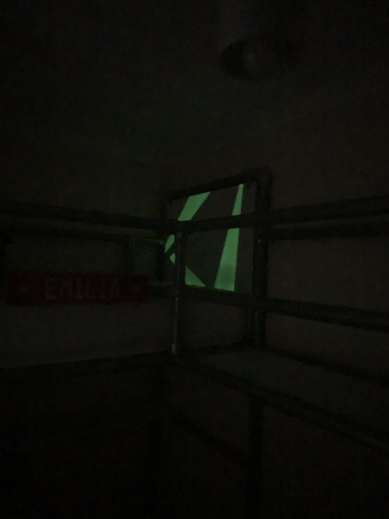 plasti dip glow in the dark headboard
