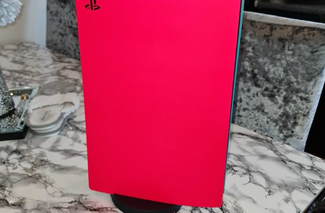ps5 with plasti dip coloured plates